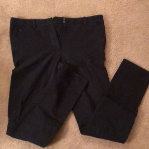 Gap Bi-Stretch Stovepipe Black Skinny Pants Sz 10R